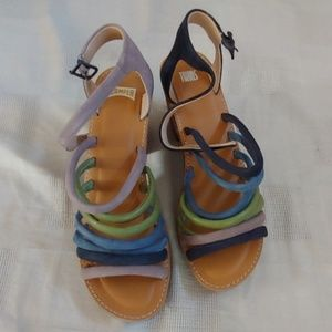 Camper heeled sandals in perfect condition 8M